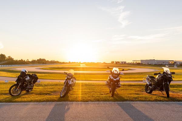 Sunrise @ The BMW Performance Center