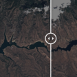 These images from space show how much the reservoirs and lakes of the West have dried up