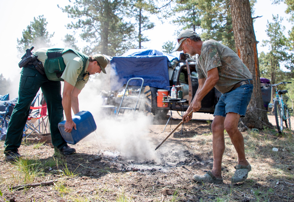 Inside Colorado's attempt to police the growing number of homeless camps in national forests