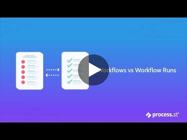 Workflows vs Workflow Runs