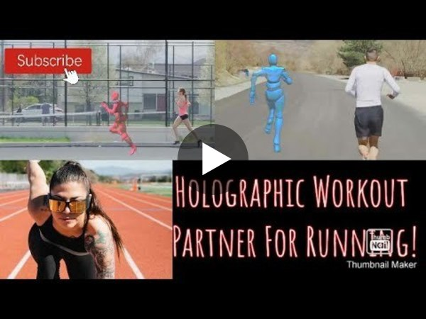 The Ghost Pacer, A Competitive AR Running Partner To Reach Your Workout Goal!