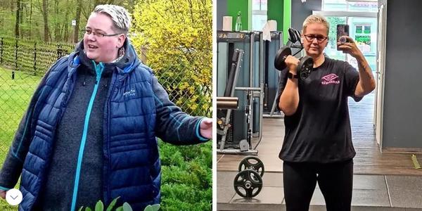 """""""Es ist wie ein Wunder"""": WieSteffi Lange aus Grimmen 50 Kilo in einem Jahr abnahm"""