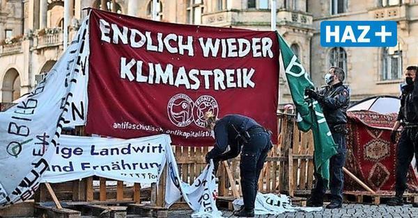 Polizeieinsatz am Fridays for Future Camp am Trammplatz Hannover: Alles verhältnismäßig?
