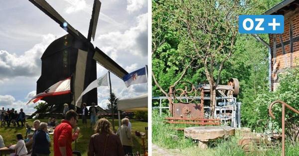 Die schönsten Wind- und Wassermühlen in MV sind am Sonntag zu besichtigen