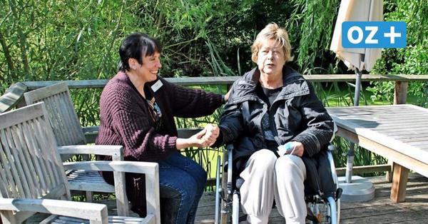 """Leben im Hospiz SchlossBernstorf: """"Die meisten vonuns verdrängen die eigeneEndlichkeit"""""""