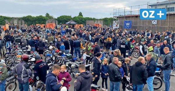 Simson-Treffen in Gadebusch im Liveblog: Video zeigt Ausfahrt mit 800 Mopeds