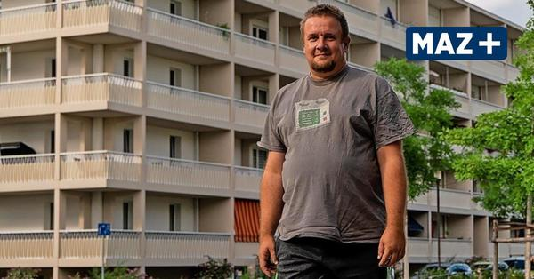 Aus Liebe zur Platte: Benjamin Karl kam 1989 nach Drewitz und blieb