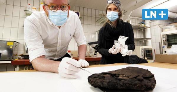79 Jahre alte Nusstorte in Lübeck entdeckt: Wie  Archäologen den Sensationsfund untersuchen