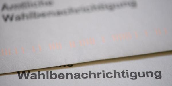 Falsche Adressen auf Dresdner Wahlbenachrichtigungen