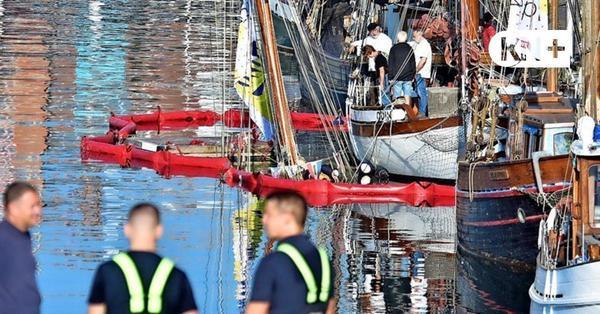 Vandalismus-Verdacht: Traditionssegler im Kieler Germaniahafen gesunken