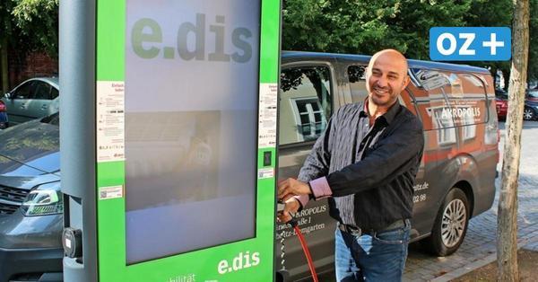 Ribnitz-Damgarten: Kaum öffentliche Ladesäulen für E-Autos – das soll sich ändern