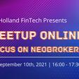 Holland FinTech Online Meetup - Holland FinTech