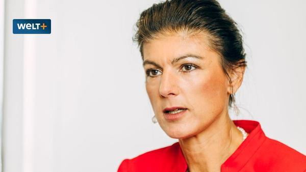 """Sahra Wagenknecht: """"Grüne vertreten Ansichten, die in erschreckender Weise autoritär sind"""" - WELT"""