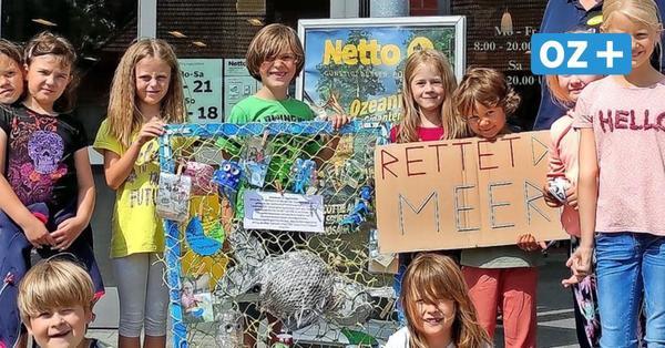 Umweltbewusst: Rügener Kita-Kinder basteln Monster für das Meer