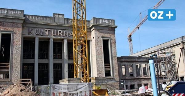 Usedom: So laufen die Bauarbeiten am Kulturhaus in Zinnowitz