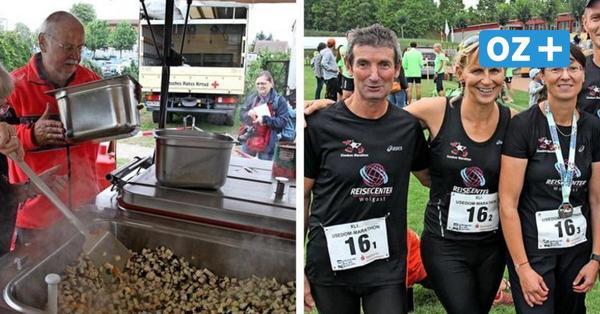 Fleißige Helfer und glückliche Läufer: So war der Usedom-Marathon 2021