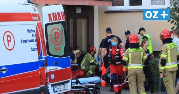 Insel Usedom: Schießerei vor Wohnhaus in Swinemünde