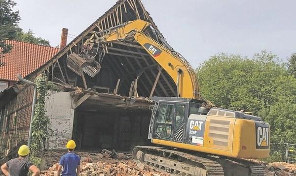 Entsetzen über den Abriss des historischen Wünninghofs - Heidekreis - Walsroder Zeitung