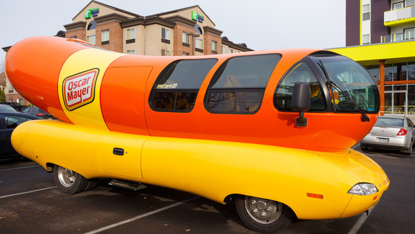 Even The Oscar Mayer Wienermobile Had To Get A Second Job As A Lyft Car