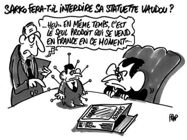 Caricature par Frap (2008).