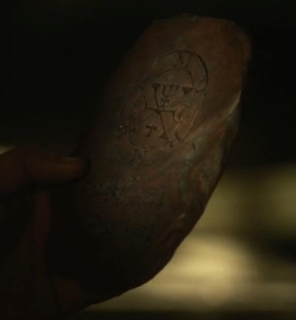 "Ichabod's so-called ""Egyptian hieroglyphs"""