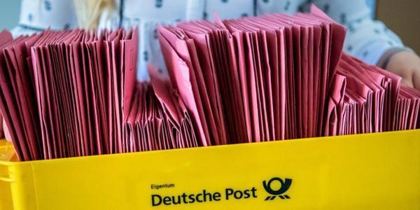 Bundestagswahl 2021: Rekord bei Briefwahl für Sachsen erwartet