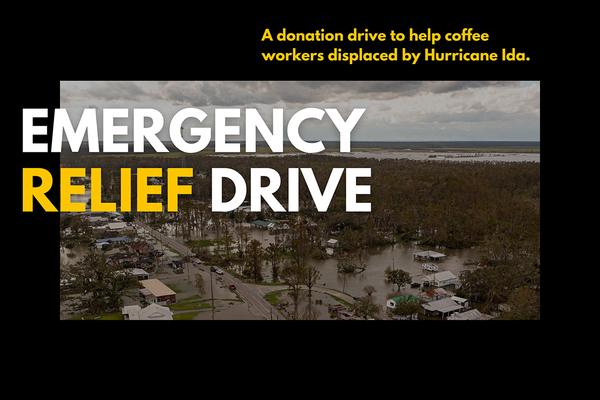 Donate To Go Fund Bean's Hurricane Ida Barista Relief Efforts