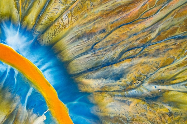 Poisoned River by Gherghe Popa. Category - Abstract