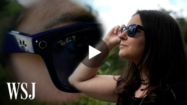 Ray-Ban Stories Review: The Cool and Creepy of Facebook Cameras In Your Sunglasses   WSJ