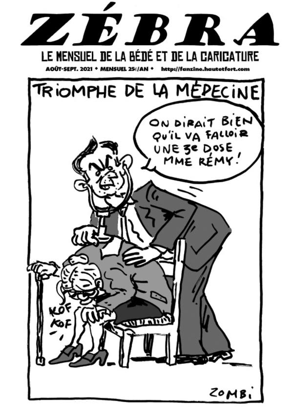 Fanzine Zébra n°93 (août-sept. 2021)
