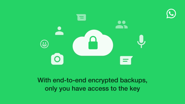 How WhatsApp is enabling end-to-end encrypted backups