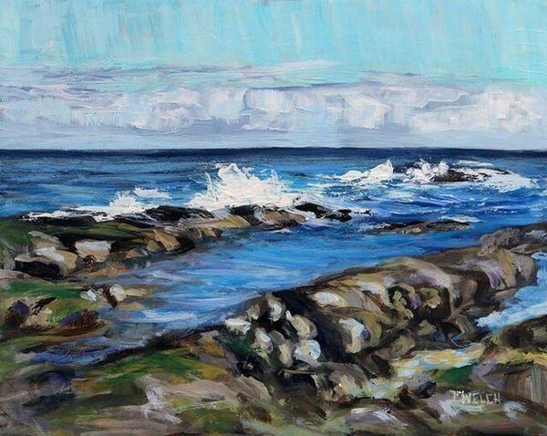 SOLD | Terrill Welch | A Swish of Sea (2021) | Artsy