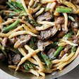 Pasta with Asparagus and Mushrooms Recipe - Justin Chapple | Food & Wine