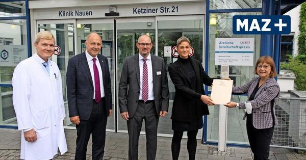 Nauen: Havelland Kliniken jetzt mit mehr Betten