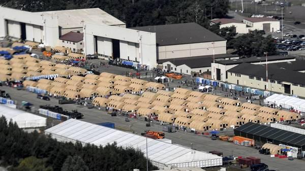 Das größte Flüchtlingscamp Europas: ein Besuch auf der US-Militärbasis in Ramstein