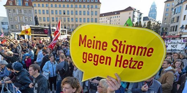 Höcke bei Pegida in Dresden: Breites Bündnis plant heute lautstarken Gegenprotest