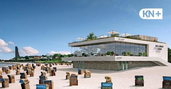 Laboe: Architekt stellt Förderverein Ideen für neue Schwimmhalle vor