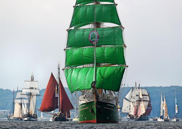 Windjammerparade: So beeindruckend war der Höhepunkt der Kieler Woche 2021