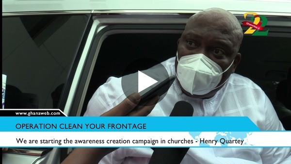 We are starting the awareness creation campaign in churches - Henry Quartey