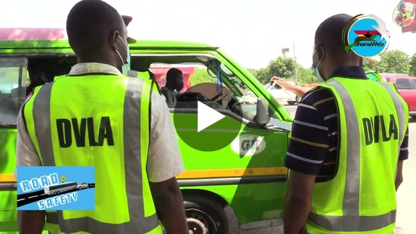 #GhanaWebRoadSafety DVLA, MTTD test new database device, clamp down on recalcitrant drivers