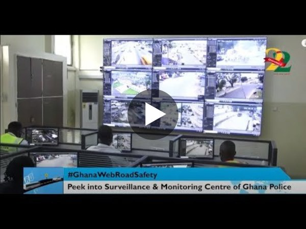 #GhanaWebRoadSafety: A peek into the 24/7 Traffic Surveillance & Monitoring Centre at Police HQ