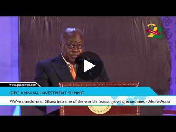 We've transformed Ghana into one of the world's fastest growing economies - Akufo-Addo