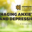 Managing Anxiety and Depression Virtual Workshop