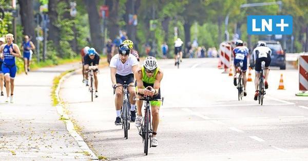 Lübeck: Tolle Stimmung beim Sieben Türme Triathlon 7TT vom Tri-Sport Lübeck im Sportzentrum Falkenwiese