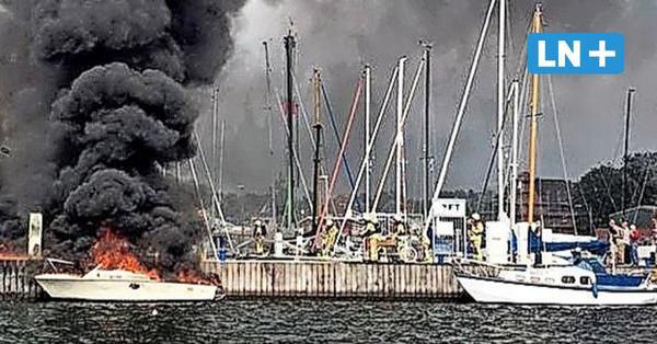 Boot explodiert: Insassen retten sich durch Sprung ins Wasser