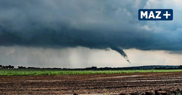 """DWD-Tornado-Beauftragter: Wolkenrüssel am Samstag """"begründeter Verdachtsfall"""" für einen Tornado"""