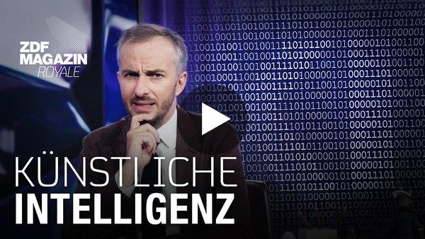 Die Schwachstelle von KI – wir Menschen    ZDF Magazin Royale