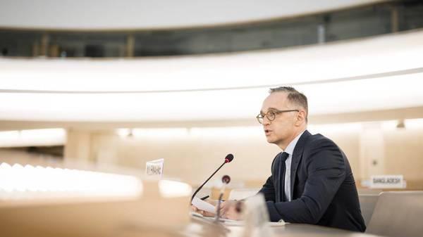 UN-Geberkonferenz mit Heiko Maas: Afghanistan soll geholfen werden