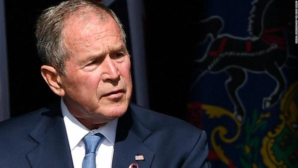 George W. Bush just threw a whole lot of shade at Donald Trump