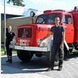 Echter Hingucker: Das ist der Feuerwehr-Oldtimer von Bijan Solati aus Bokensdorf